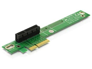 Delock PCI Express x4 Riser Card 90 Angled [89103] Εικόνα 1