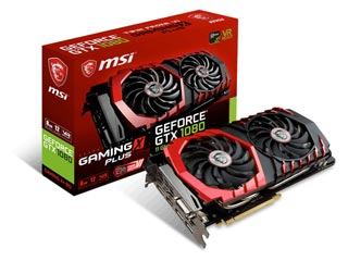 MSI GeForce GTX 1080 Gaming X+ 8GB [V336-060R] Εικόνα 1