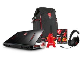 MSI Notebook i7-7700HQ - 16GB - 256GB SSD + 1TB - GTX 1070 8GB - Win 10 [GT62VR 7RE-226NL] Εικόνα 1