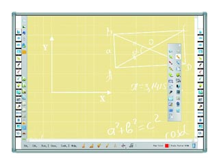 Intech Traceboard Interactive Whiteboard 4187 IR 80¨ 10p Multitouch [TI-4187W] Εικόνα 1