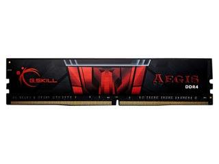 G.Skill 8GB Aegis DDR4 2400MHz Non-ECC CL15 15-15-35 Black [F4-2400C15S-8GIS] Εικόνα 1