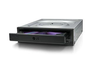 LG GH24NSD Internal DVD R/RW - Black [GH24NSD] Εικόνα 1