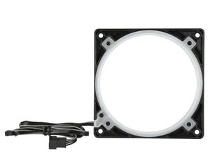 Phanteks Halos 140mm RGB Fan Frame - Black [PH-FF140RGBP_BK01] Εικόνα 1
