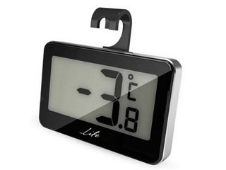 Life WES-104 Digital Thermometer - Black Εικόνα 1