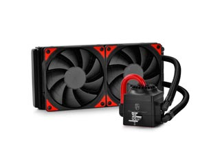 Deepcool Liquid CPU Cooler Captain 240 EX - Black/Red Εικόνα 1