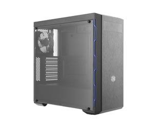 Cooler Master MasterBox MB600L Windowed Mid-Tower Case - Blue Trim [MCB-B600L-KA5N-S01] Εικόνα 1