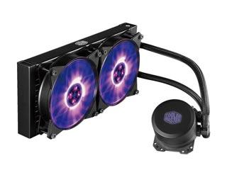 Cooler Master CPU Cooler MasterLiquid ML240L RGB [MLW-D24M-A20PC-R1] Εικόνα 1