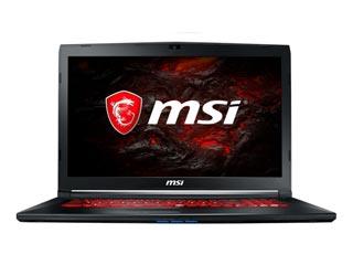MSI Notebook i7-7700HQ - 8GB - 1TB HDD + 128GB SSD - GTX 1050 2GB - Win 10 [GL72M 7RDX-1288NL] Εικόνα 1