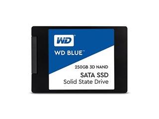 Western Digital Blue 3D Nand 250GB SATA III SSD [WDS250G2B0A] Εικόνα 1