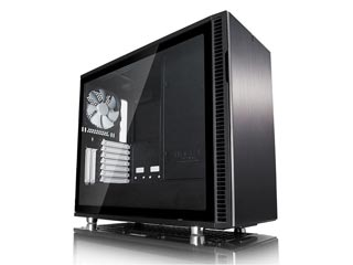 Fractal Design Define R6 Windowed Mid-Tower Case Tempered Glass - Black [FD-CA-DEF-R6-BK-TG] Εικόνα 1