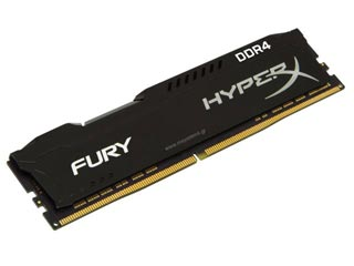 HyperX 16GB Fury DDR4 2933MHz Non-ECC CL17 [HX429C17FB/16] Εικόνα 1