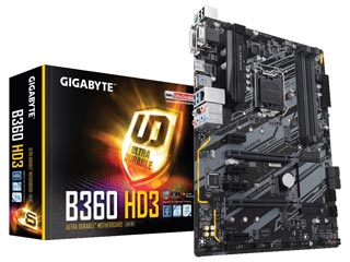 Gigabyte B360 HD3 Εικόνα 1