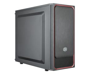 Cooler Master MasterBox E500L Mid-Tower Case - Red Trim [MCB-E500L-KN5N-S01] Εικόνα 1