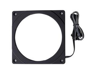 Phanteks Halos Digital 120mm RGB Fan Frame - Black [PH-FF120DRGBP_BK01] Εικόνα 1