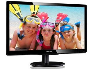 Philips V-Line 200V4LAB2 19.5¨ Wide LED Εικόνα 1