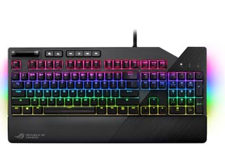 Asus ROG Strix Flare RGB Mechanical Gaming Keyboard - Cherry MX Red [90MP00M0-B0UA00] Εικόνα 1
