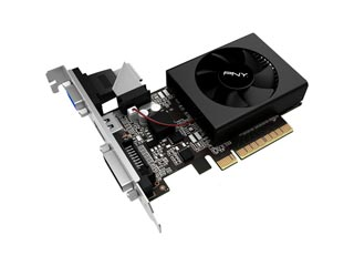PNY GeForce GT 730 2GB [GF730GTLP2GEPB] Εικόνα 1