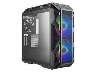 Cooler Master MasterCase H500M RGB Windowed Mid-Tower Case Tempered Glass - Iron Grey [MCM-H500M-IHNN-S00] Εικόνα 1