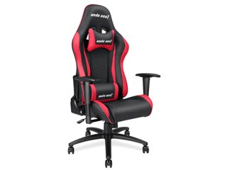 Anda Seat Gaming Chair AD5 - Black / Red [AD5-01-BR-PV] Εικόνα 1
