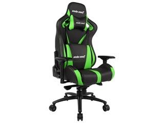 Anda Seat Gaming Chair AD12XL - Black / Green [AD12XL-03-BE-PV-E01] Εικόνα 1