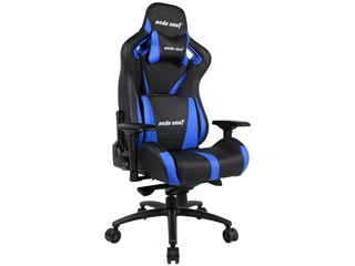 Anda Seat Gaming Chair AD12XL - Black / Blue [AD12XL-03-BS-PV-S01] Εικόνα 1