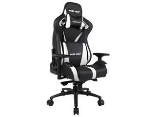 Anda Seat Gaming Chair AD12XL - Black / White [AD12XL-03-BW-PV-W01] Εικόνα 1