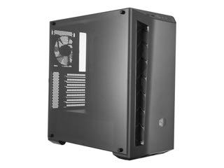 Cooler Master MasterBox MB510L Carbon Windowed Mid-Tower Case - Black Trim [MCB-B510L-KANN-S01] Εικόνα 1