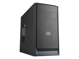 Cooler Master MasterBox E300L Mini-Tower Case - Blue Trim [MCB-E300L-KN5N-B01] Εικόνα 1