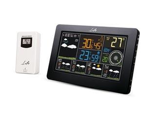 Life WES-401 Wireless Wi-Fi Digital Thermometer/hydrometer with Clock & External Sensor Εικόνα 1
