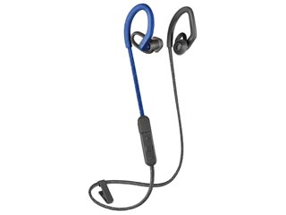 Plantronics Backbeat Fit 350 Wireless Bluetooth Earbuds - Blue / Grey [212345-99] Εικόνα 1