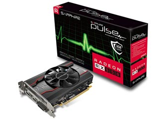 Sapphire Radeon RX 550 Pulse 2GB [11268-03-20G] Εικόνα 1