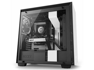 NZXT H Series H700 Windowed Mid-Tower Case - Matte White [CA-H700B-W1] Εικόνα 1