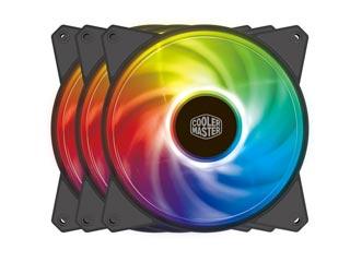 Cooler Master MasterFan MF120R Addressable RGB Fan 3in1 + RGB Controller Pack [R4-120R-203C-R1] Εικόνα 1