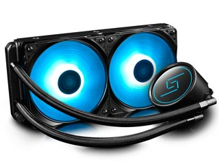 Deepcool RGB Liquid CPU Cooler GAMMAXX L240 Εικόνα 1