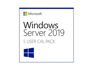 Microsoft Windows Server 2019 English DSP 5 User Cals [R18-05867] Εικόνα 1