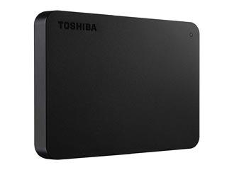 Toshiba Canvio Basics 2.5¨ USB 3.0 External Hard Drive -  1TB (Black) [HDTB410EK3AA] Εικόνα 1
