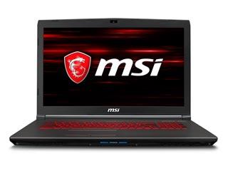 MSI Notebook i7-8750H - 16GB - 1TB + 256GB SSD - GTX 1060 3GB - Win 10 [GV72 8RE-041NL] Εικόνα 1