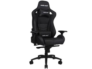 Anda Seat Gaming Chair AD12 - Black [AD12-03-B-PV] Εικόνα 1