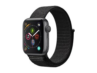 Apple Watch Series 4 GPS 40mm Space Gray Aluminium Case with Black Sport Loop [MU672GK] Εικόνα 1