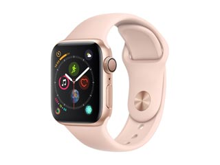 Apple Watch Series 4 GPS 40mm Gold Aluminium Case with Pink Sand Sport Band [MU682GK] Εικόνα 1