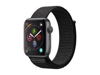 Apple Watch Series 4 GPS 44mm Space Gray Alumunium Case with Black Sport Loop [MU6E2GK] Εικόνα 1