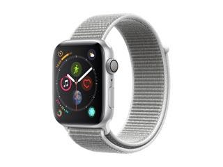 Apple Watch Series 4 GPS 44mm Silver Aluminium Case with Seashell Sport Loop [MU6C2GK] Εικόνα 1
