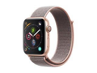 Apple Watch Series 4 GPS 44mm Gold Aluminium Case with Pink Sand Sport Loop [MU6G2GK] Εικόνα 1