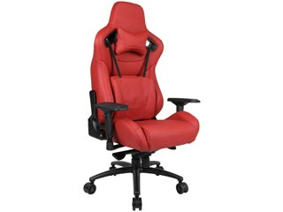Anda Seat Gaming Chair AD12XL - Real Leather Red [AD12XL-05-A-L] Εικόνα 1