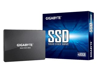 Gigabyte 480GB SSD 2.5 SATA III [GP-GSTFS31480GNTD] Εικόνα 1