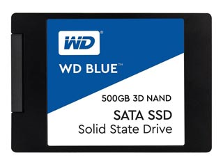 Western Digital Blue 3D Nand 500GB SATA III SSD [WDS500G2B0A] Εικόνα 1