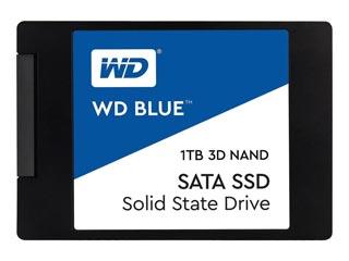 Western Digital Blue 3D Nand 1TB SATA III SSD [WDS100T2B0A] Εικόνα 1