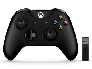 Microsoft XBOX One Wireless Controller for Windows PC with Adapter - Black [4N7-00002] Εικόνα 1