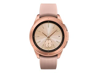 Samsung Galaxy Watch 42mm with Bluetooth - Rose Gold [SM-R810] Εικόνα 1