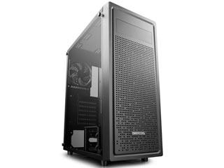 Deepcool E-Shield Mid-Tower Case Tempered Glass - Black Εικόνα 1